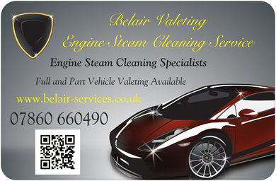 Belair Engine Steam Cleaning 07860 660490